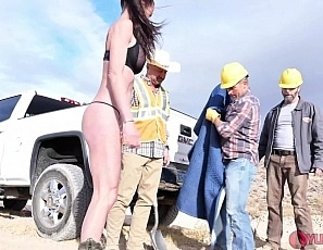 SofieMarieXXX/Ditch Diggers Give a Girl a Ride