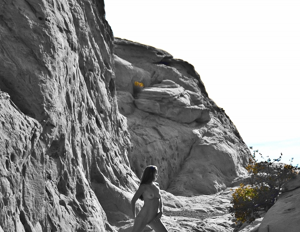 SofieMarieXXX/SM_Red_Rocks_Stride_Study_Nude_Black_White