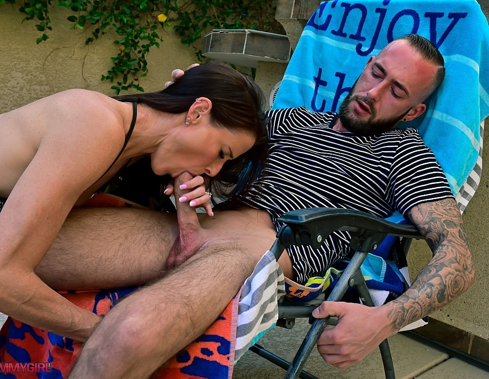 SofieMarieXXX/Stepson Puts Lotion on Mom